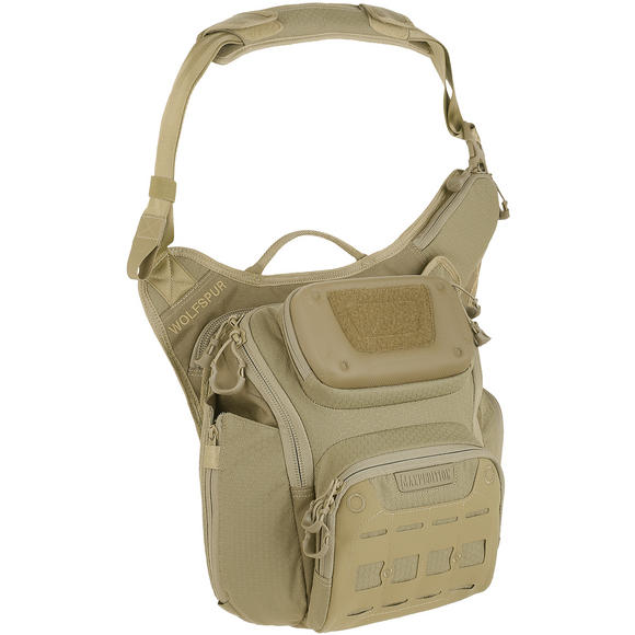 Maxpedition Wolfspur Crossbody Shoulder Bag Tan