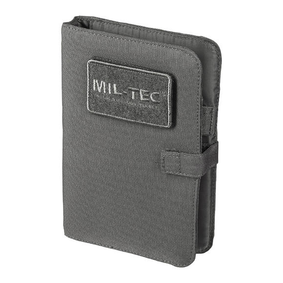 Mil-Tec Tactical Notebook Small Urban Grey