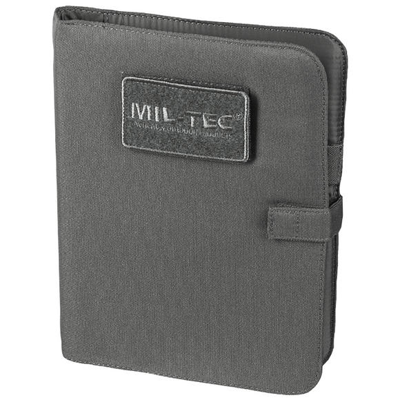 Mil-Tec Tactical Notebook Medium Urban Grey