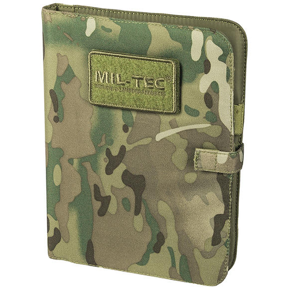 Mil-Tec Tactical Notebook Medium Multitarn
