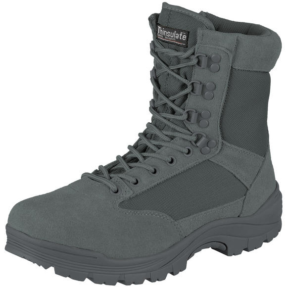 Mil-Tec Tactical Side Zip Boots Urban Grey