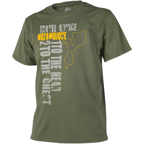 Helikon Travel Advice: Mozambique T-shirt Olive Green