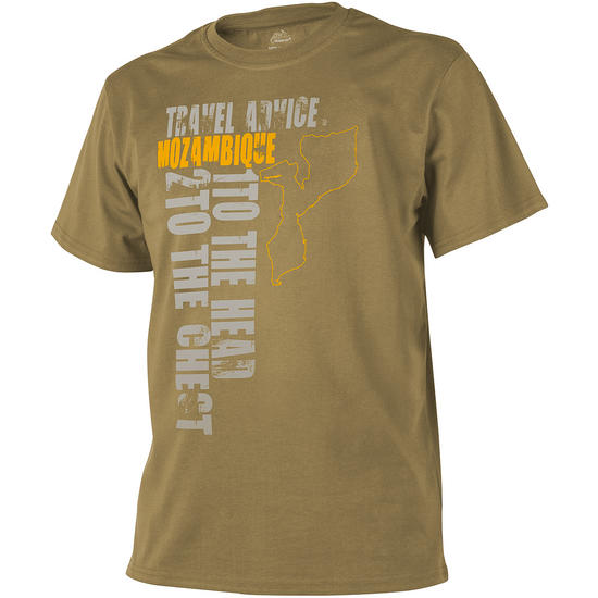 Helikon Travel Advice: Mozambique T-shirt Coyote