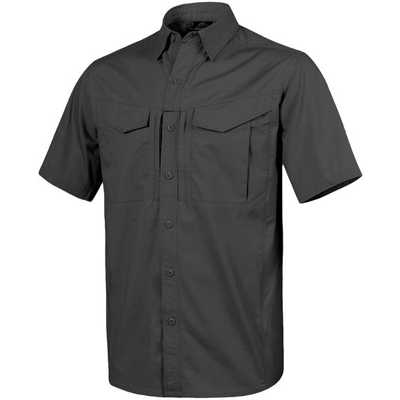 Helikon Defender Mk2 Short Sleeve Shirt Polycotton Ripstop Black