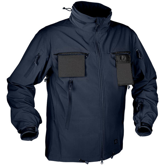 Helikon Cougar Soft Shell Windblocker Jacket Navy Blue