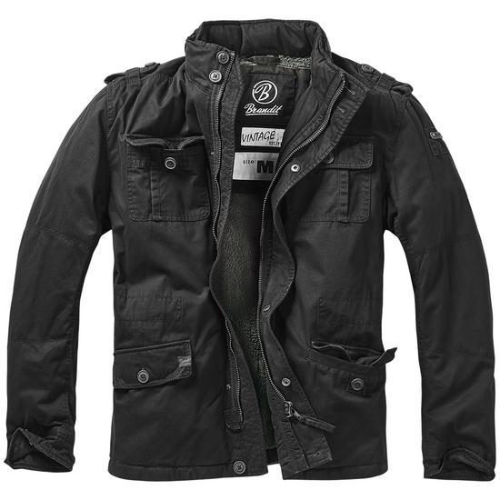 Brandit Britannia Winter Jacket Black