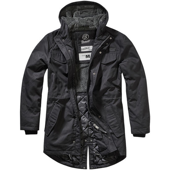 Brandit Marsh Lake Parka Black