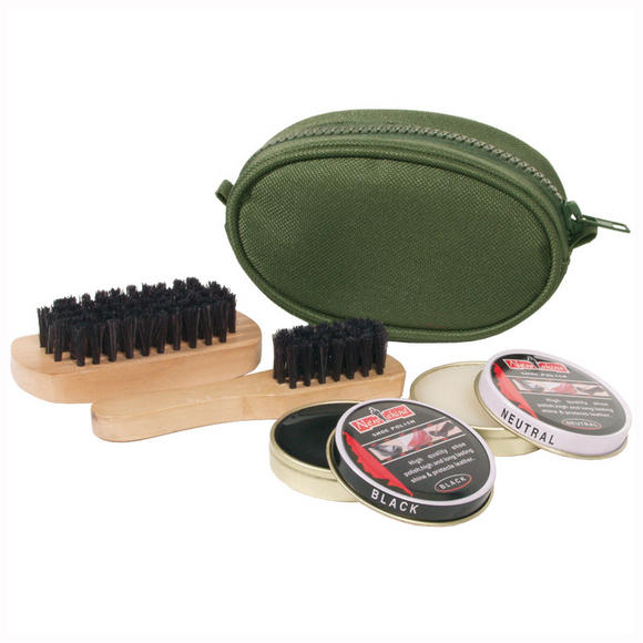 Mil-Tec Shoe Polish Travel Kit