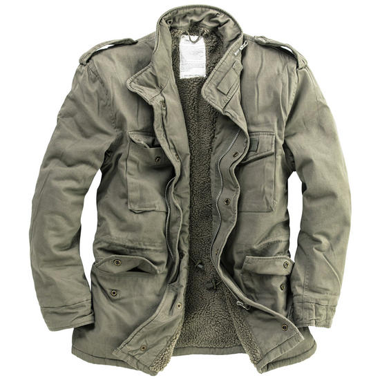 Surplus Paratrooper Winter Jacket Olive Washed | Other | Military 1st