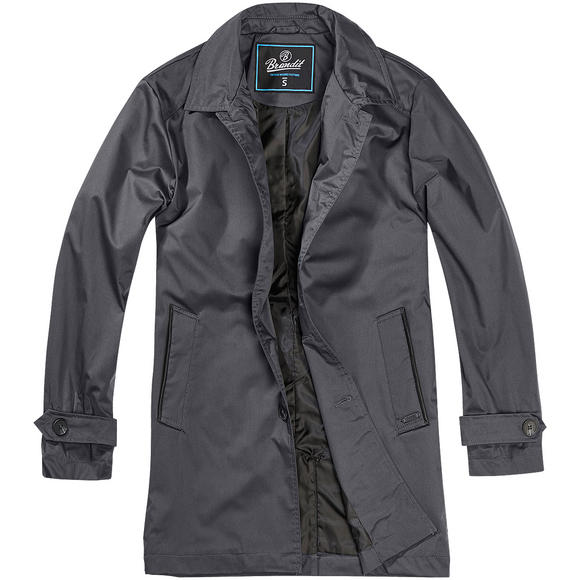 Brandit James Coat Gray