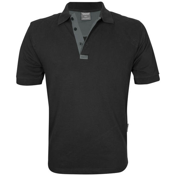 Jack Pyke Sporting Polo Shirt Black