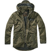 Brandit Nile Coated Parka Olive
