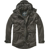 Brandit Nile Coated Parka Black