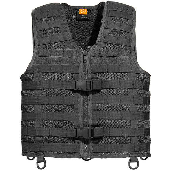 Pentagon Thorax 2.0 MOLLE Vest Black