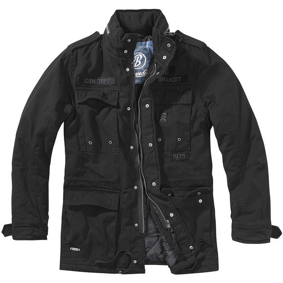 Brandit Ryan M65 Winter Jacket Black