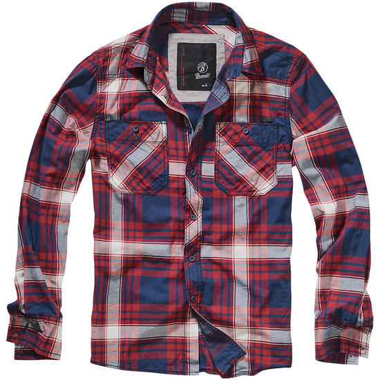 Brandit Check Shirt SlimFit Red