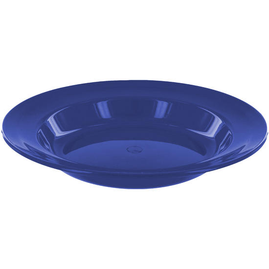 Highlander 22cm Deep Plate Blue