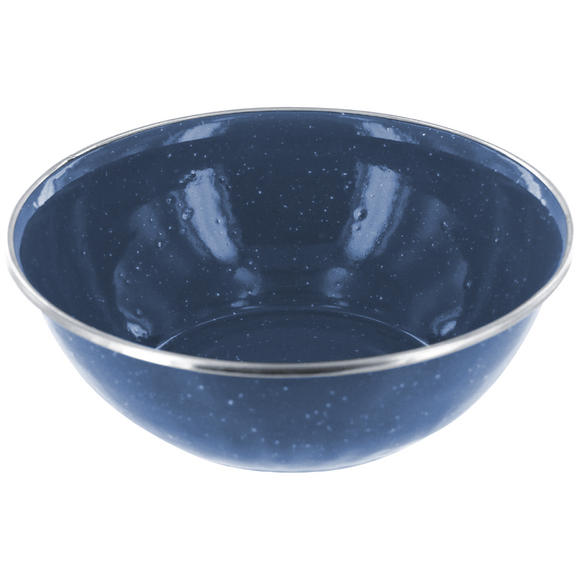 Highlander Deluxe Enamel Bowl Navy Blue
