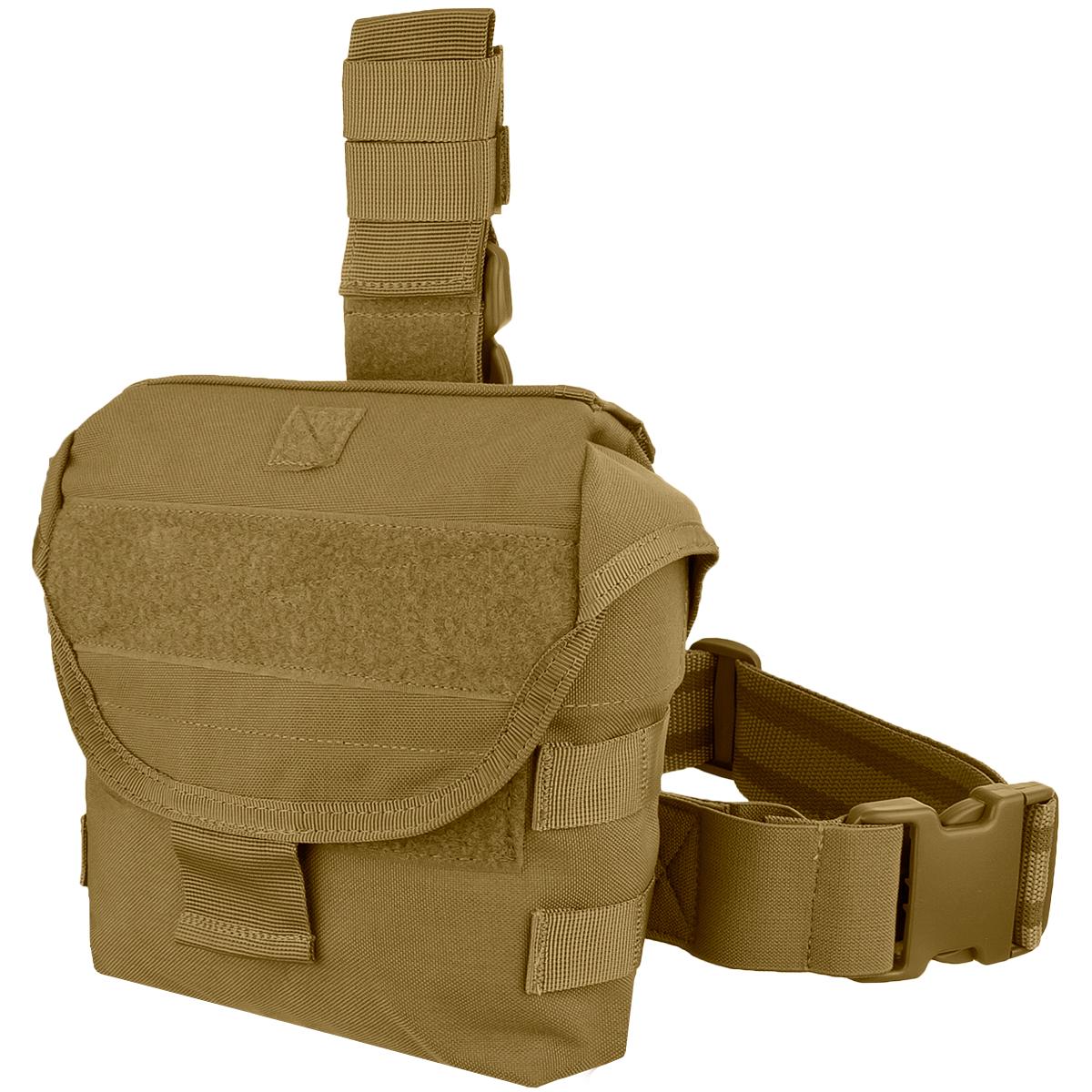 condor drop leg dump pouch coyote brown magazine pouches. Black Bedroom Furniture Sets. Home Design Ideas