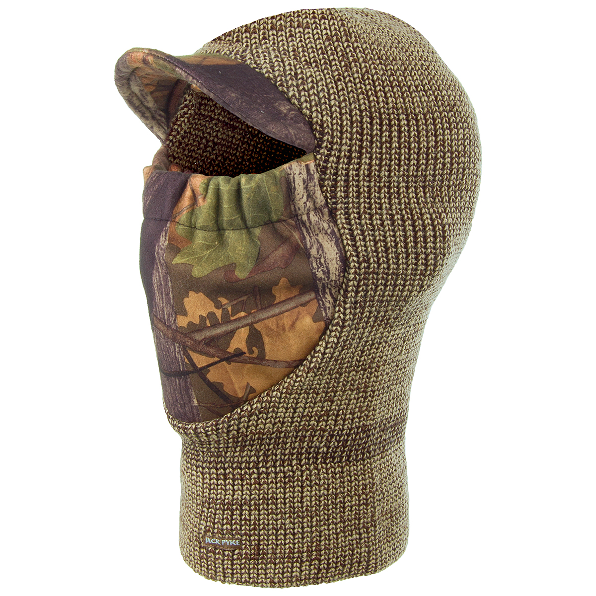 Jack Pyke Double Knit Balaclava English Oak Camo / Brown ...