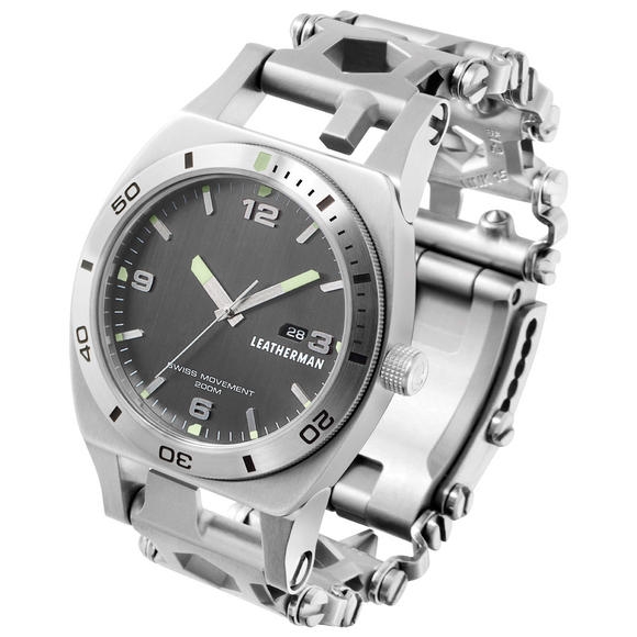 Leatherman Tread Tempo Watch Stainless