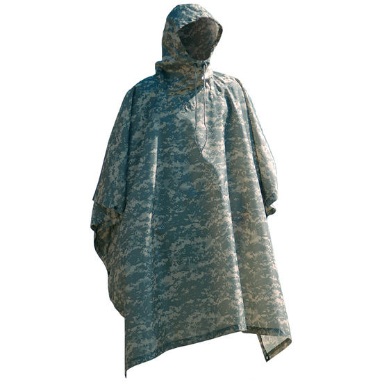 Waterproof Poncho Ripstop ACU Digital Preview
