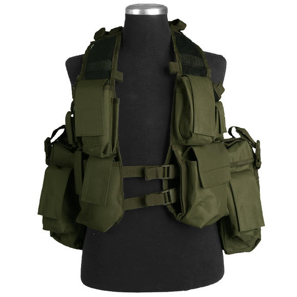 Mil-Tec South African Assault Vest Olive