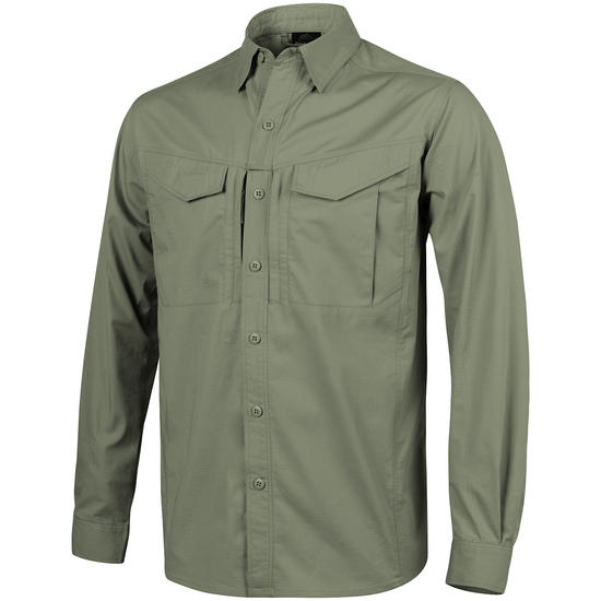Helikon Defender Mk2 Long Sleeve Shirt Olive Green