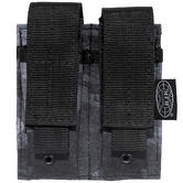 MFH Double 9mm Magazine Pouch Small MOLLE HDT Camo LE