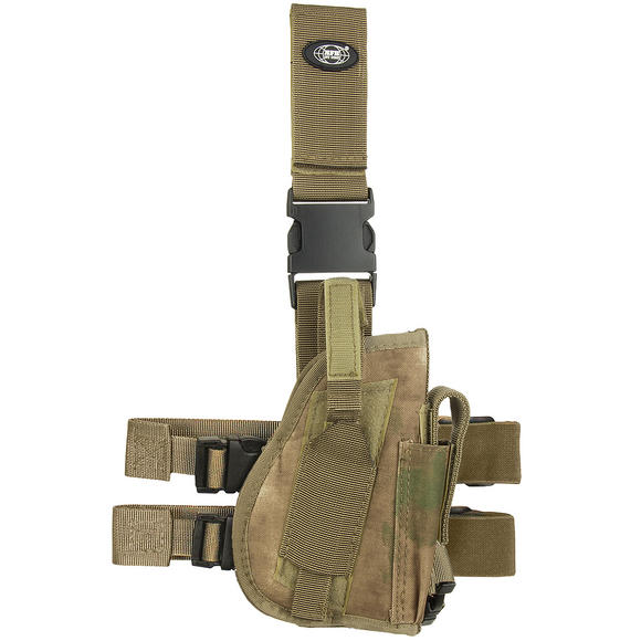 MFH Right Leg Holster HDT Camo FG