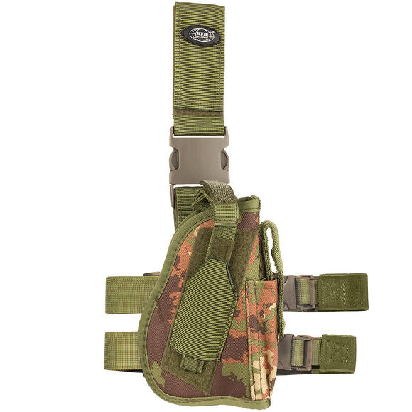 MFH Right Leg Holster Vegetato Woodland