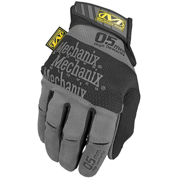 Mechanix Wear Specialty High Dexterity 0.5mm Grey / Black
