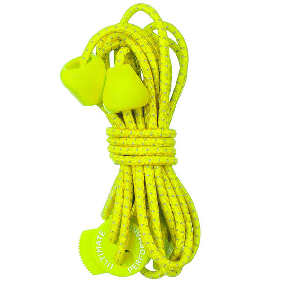 Ultimate Performance Reflective Elastic Laces Yellow
