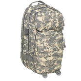 MFH Backpack Assault I Laser 30L Army Military Travel Rucksack ACU Digital Camo