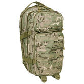MFH Backpack Assault I Laser 30L Military Army Rucksack Hiking Operation Camo