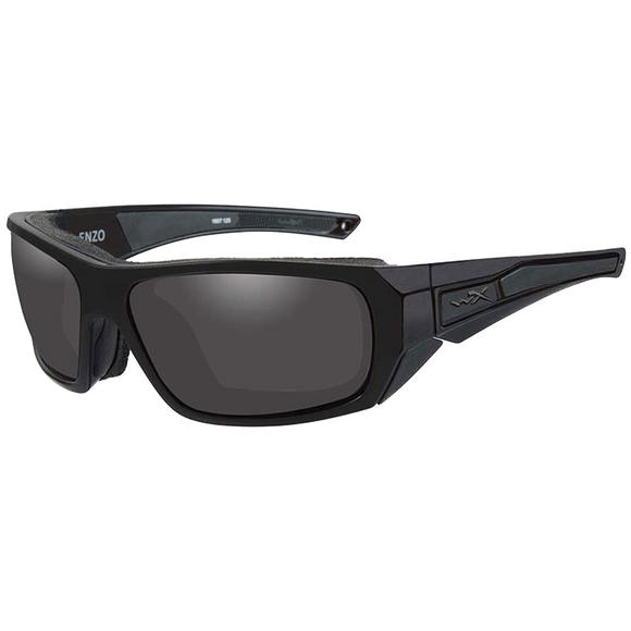 Wiley X WX Enzo Glasses - Smoke Gray Lens / Matte Black Frame