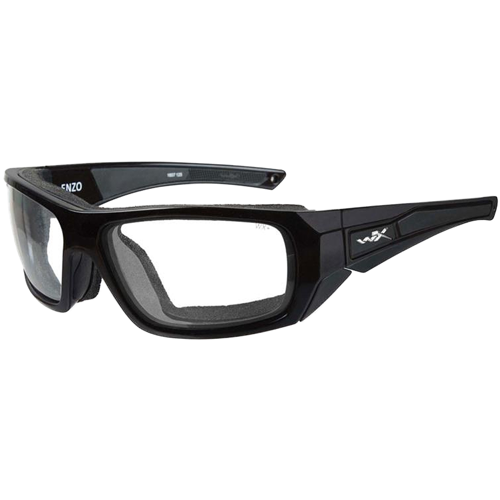 03651e8285 Wiley X WX Enzo Glasses - Clear Lens   Gloss Black Frame Wiley X WX Enzo  Glasses - Clear Lens   Gloss Black Frame
