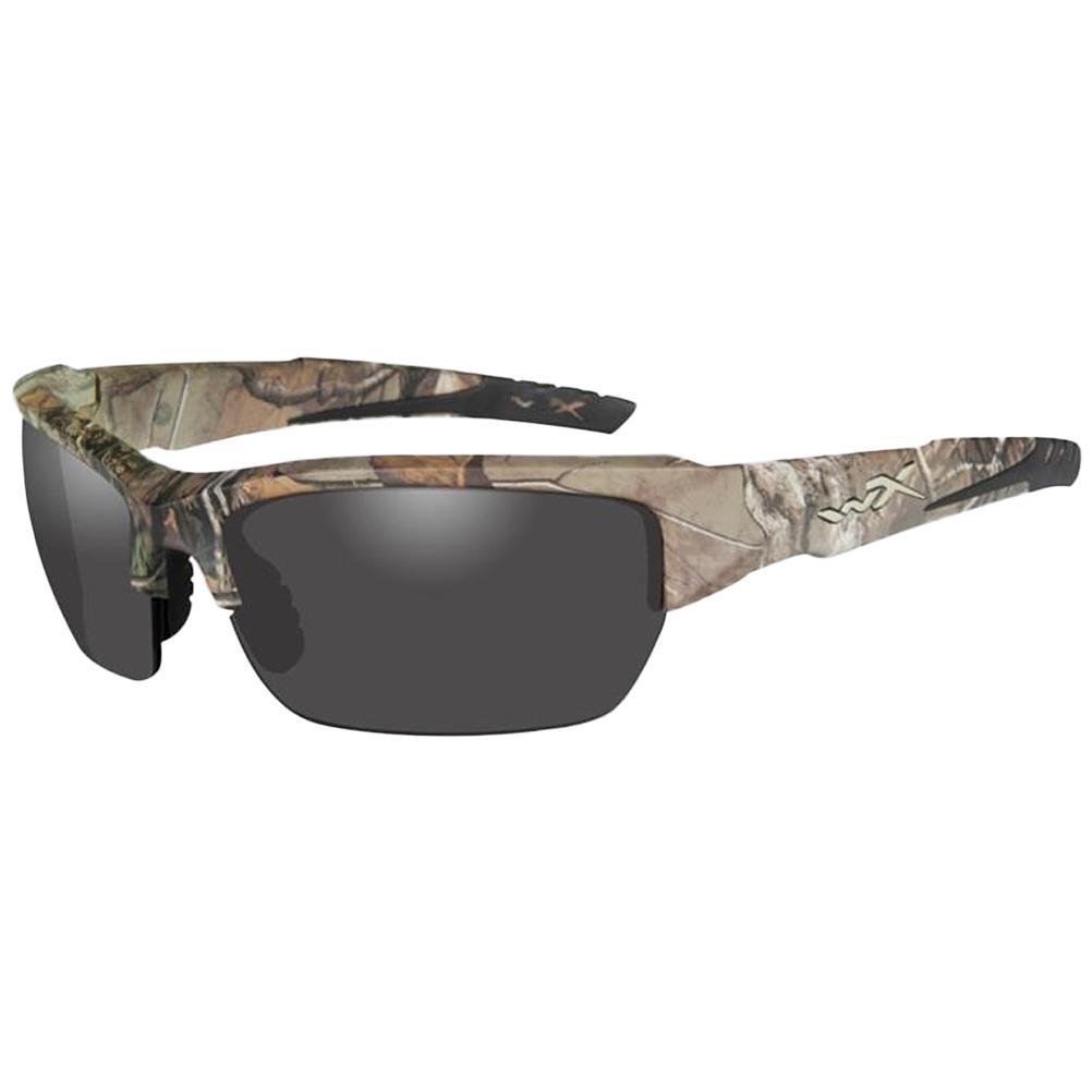 3b228432f5d9 Wiley X WX Valor Glasses - Smoke Grey Lens / Realtree Xtra Camo Frame Wiley  X WX Valor Glasses - Smoke Grey Lens / Realtree Xtra Camo Frame