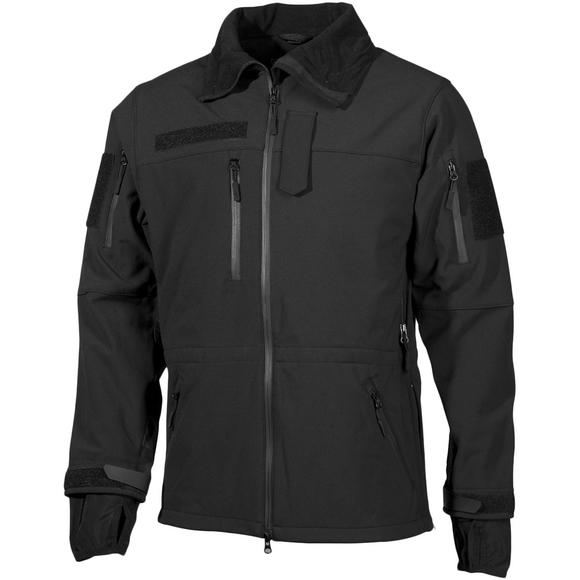 MFH High Defence Softshell Jacket Black