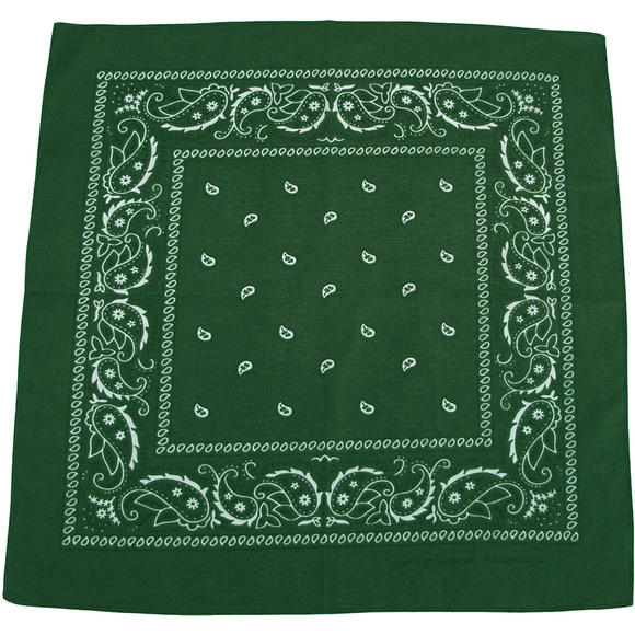 MFH Bandana Cotton OD Green