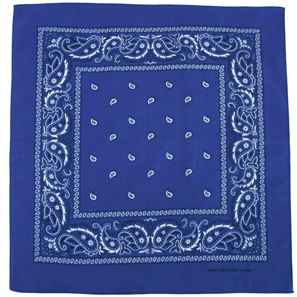 MFH Bandana Cotton Royal