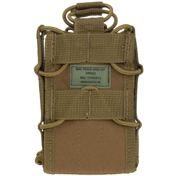 Mil-Tec Open Top Single Mag Pouch Dark Coyote