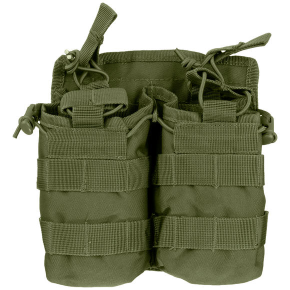 Mil-Tec Open Top Double Mag Pouch Olive