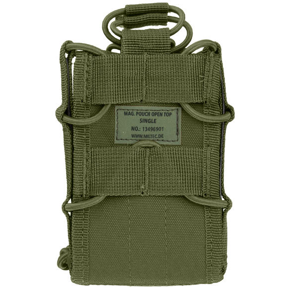 Mil-Tec Open Top Single Mag Pouch Olive