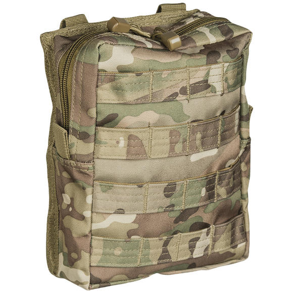 Mil-Tec MOLLE Belt Pouch Large Multitarn
