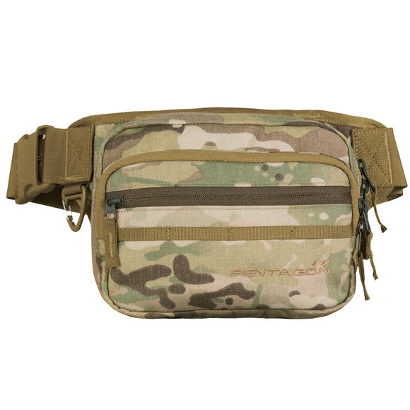 Pentagon Runner Concealment Pouch MultiCam