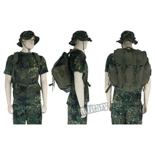BW German Military Mountain Rucksack Army Backpack Hiking Pack 25L ...