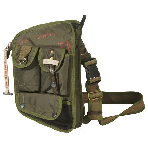 Pure Trash Shoulder Bag OD Green