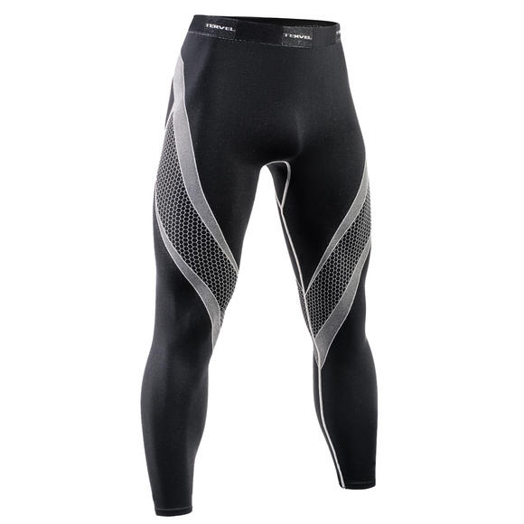 Tervel Optiline Running Leggings Black/Light Gray