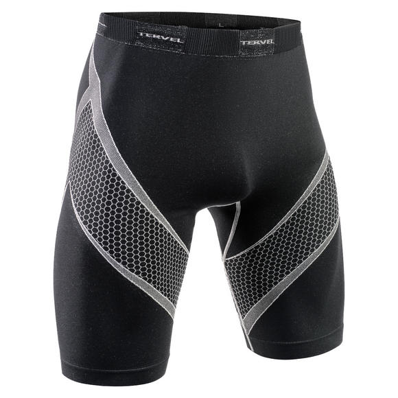 Tervel Optiline Running Shorts Black/Light Gray